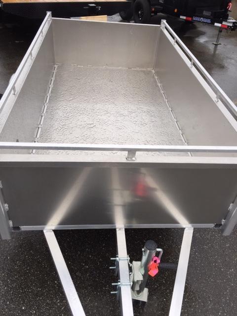 2021 The Trailerman 4 X 8 Aluminum box Utility Trailer