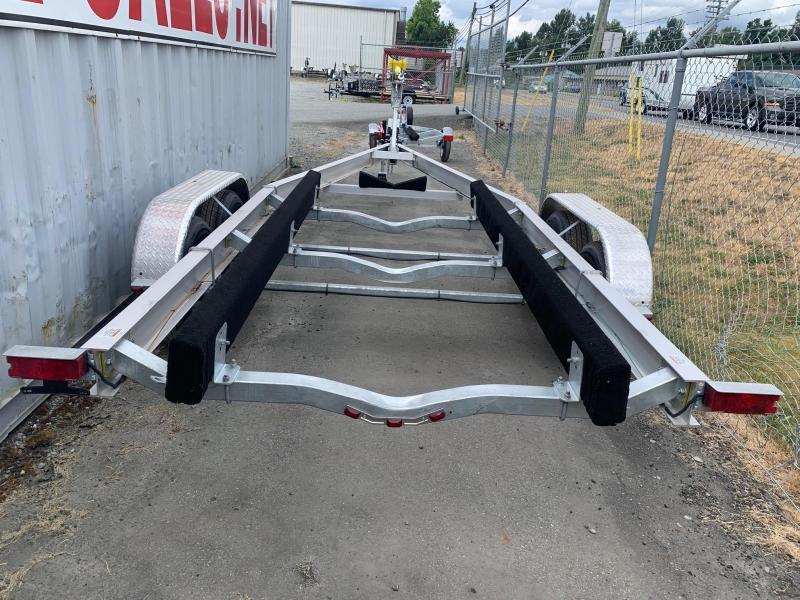 2021 Venture Aluminum Tandem Axle Bunk VATB-7225 Boat Trailer