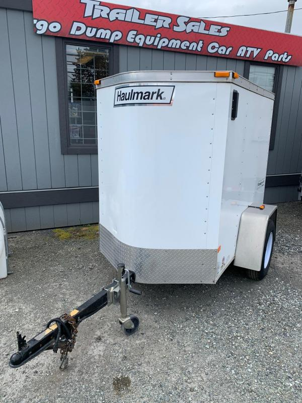 2020 Haulmark 4x6 Enclosed Cargo Trailer
