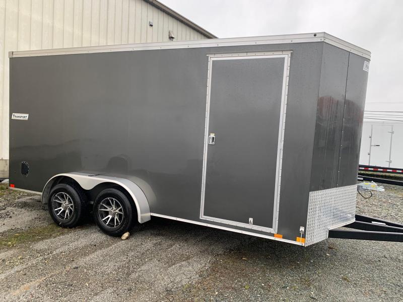 2019 Haulmark 7X16 TRANSPORT Cargo Trailer W/RAMP