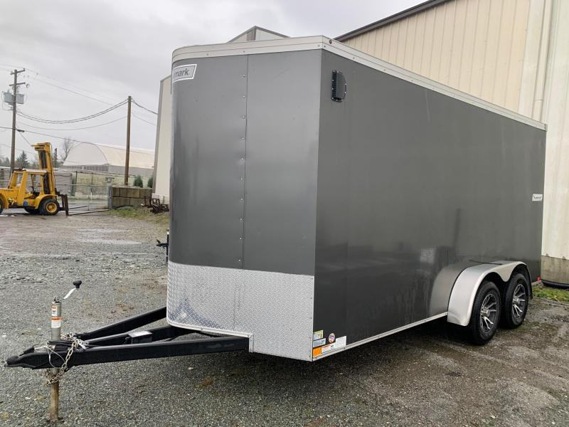 2019 Haulmark 7X16 TRANSPORT Cargo Trailer W/RAMP