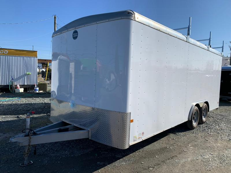 2017 Wells Cargo 8.5X20 w/Ramp Enclosed Cargo Trailer