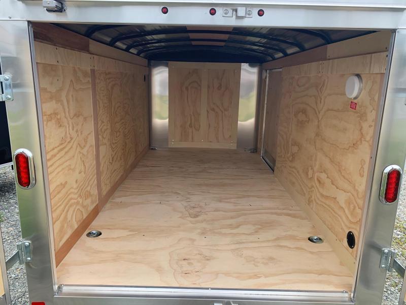 """2020 Carry-On 6X12 Barn Door """"Short"""" Cargo Trailer"""