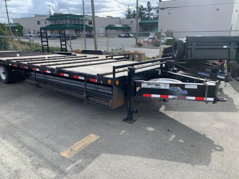 2011 Load Trail Pintle Heavy Duty 102 x 30 Equipment Trailer