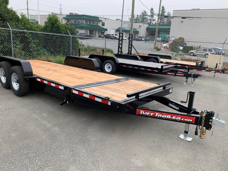 2021 Tuff Trailer 7x20 14K Full Tilt Equipment Trailer