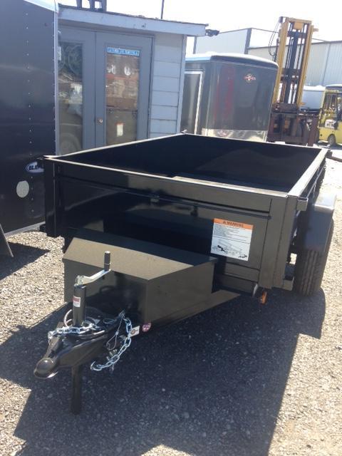 2021 Carry-On 5X8 5K Dump Trailer single axle