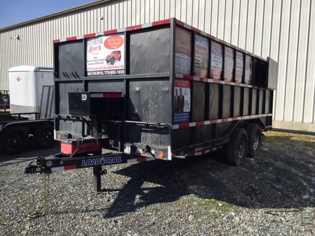 2020 Load Trail flatdeck Equipment Trailer