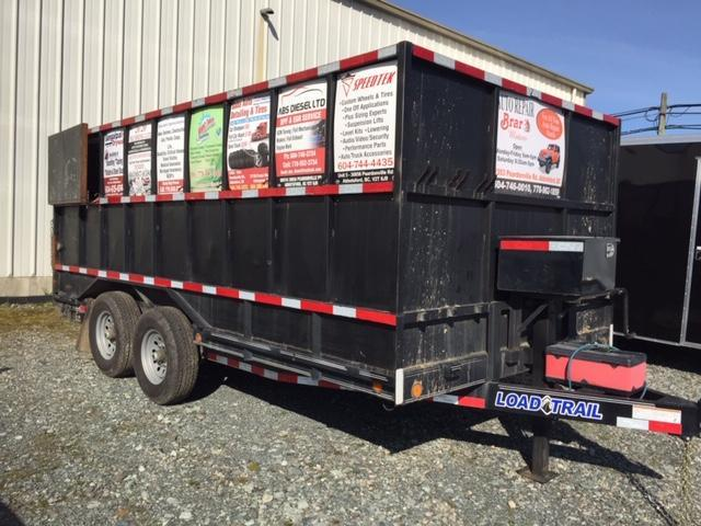 2020 Load Trail flatdeck Equipment Trailer