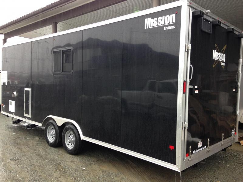 2017 Mission P&P 8.5X24 Park & Play Toy Hauler