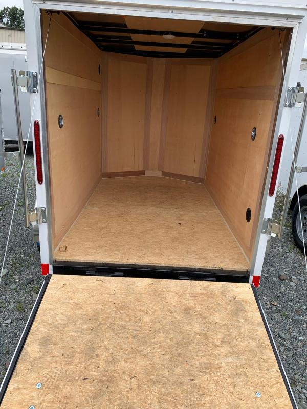 2021 Haulmark 5x8 with ramp Enclosed Cargo Trailer