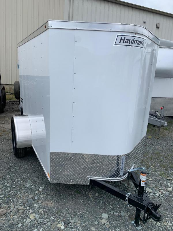2021 Haulmark 5x8 with ramp Enclosed Cargo Trailer