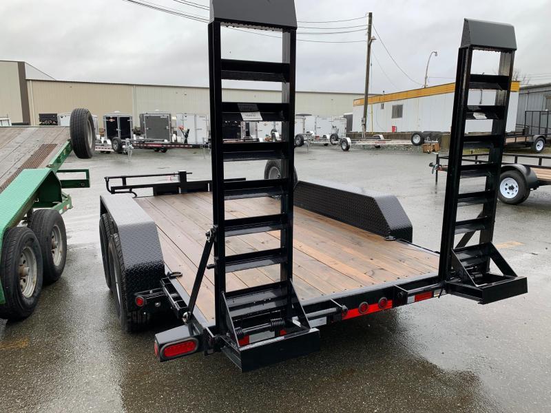 2021 Load Trail 7x14 14K Equipment Trailer