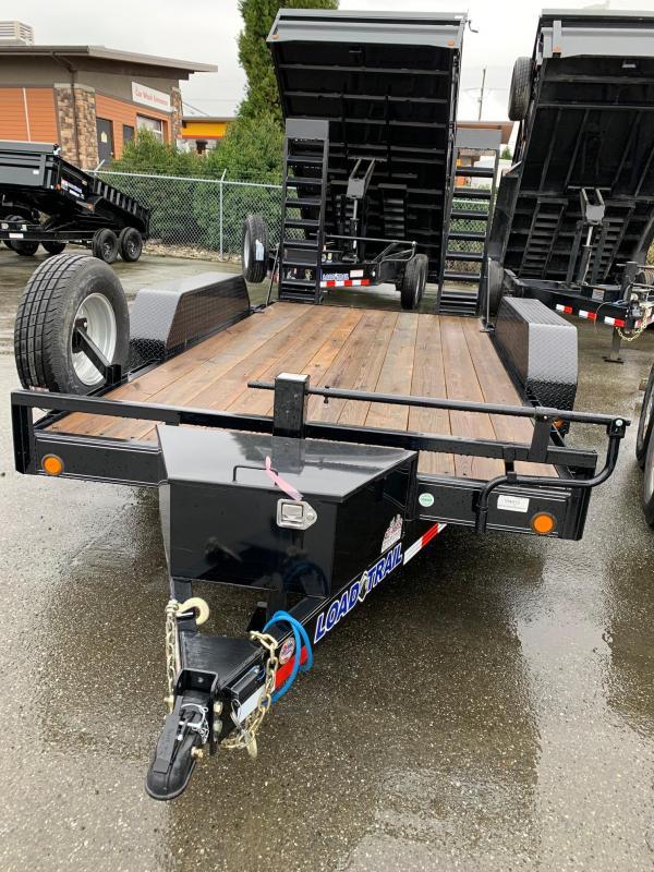 2019 Load Trail 7x14 14K Equipment Trailer