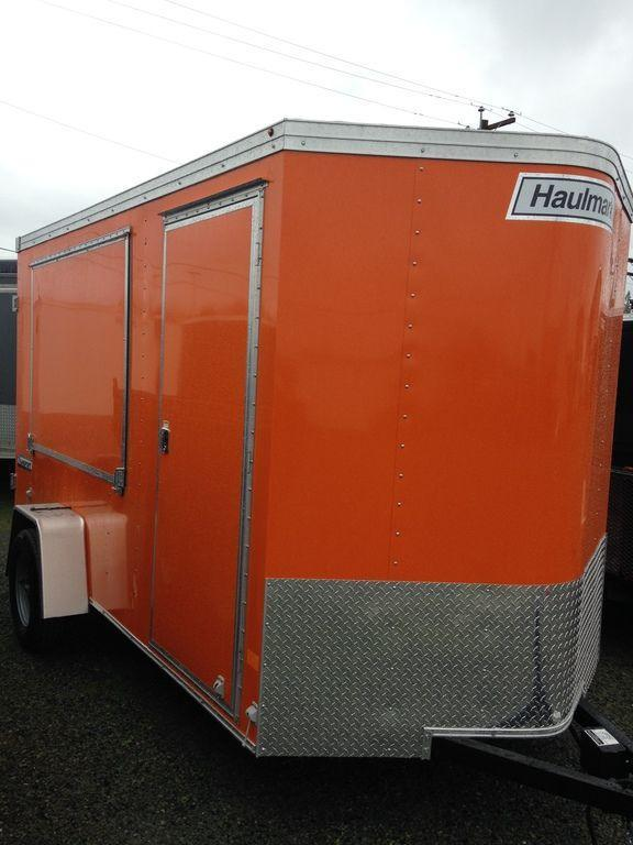 2020 Haulmark Transport V-Nose 6' Wide TSV6X12DS2 Concession Trailer