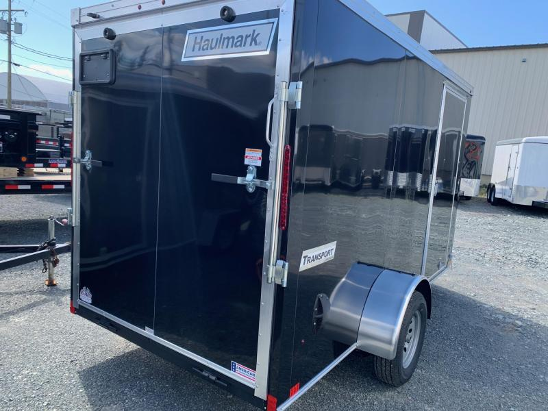 2020 Haulmark Transport 6x12 w/ramp Enclosed Cargo Trailer