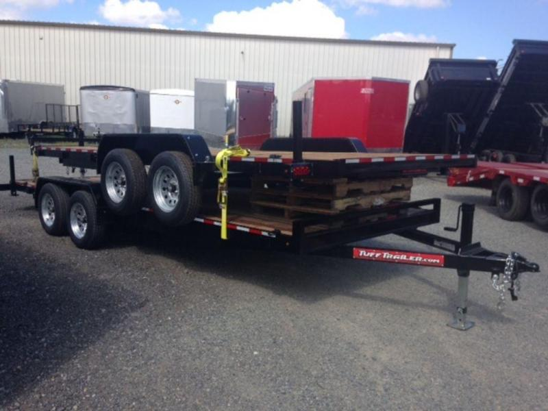 2020 Tuff Trailer 7x18 7K Car Trailer w/ Ramps
