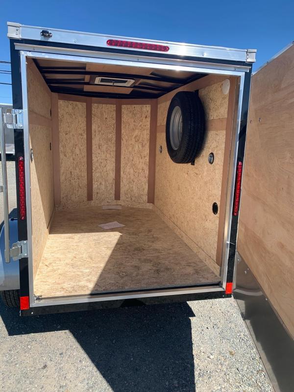 2021 Haulmark 5X8 BARN DOOR Cargo Trailer