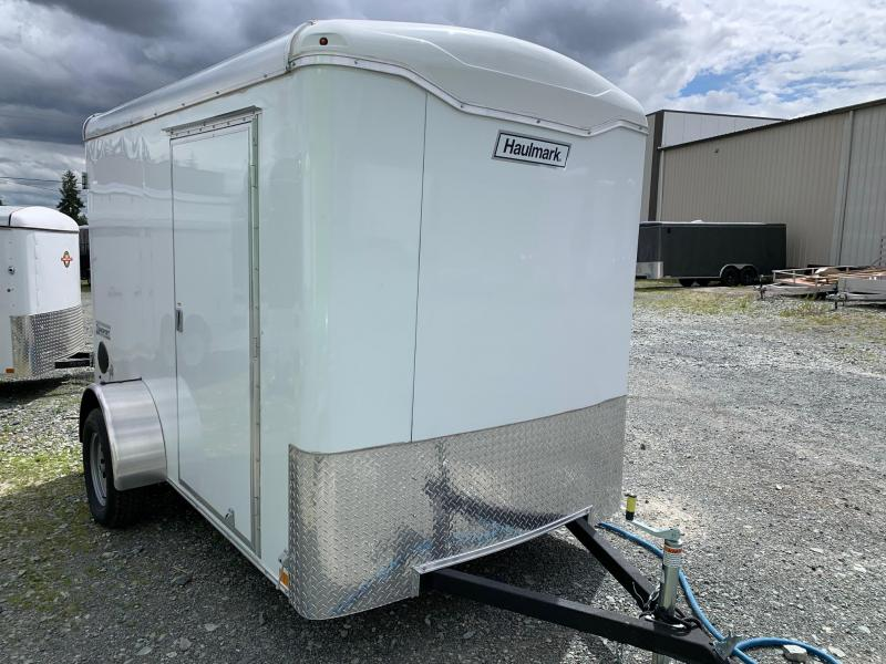 2020 Haulmark TRANSPORT 6X10 BARN DOORS Enclosed Cargo Trailer