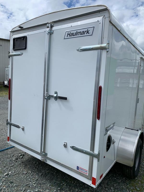 2020 Haulmark TRANSPORT 6X10 BARN DOORS Enclosed Cargo Trailer