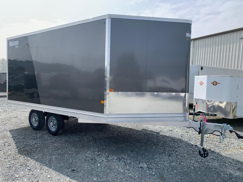 2021 Mission MES 101X14 (6.5 Height) Tandem Axle Snowmobile Trailer