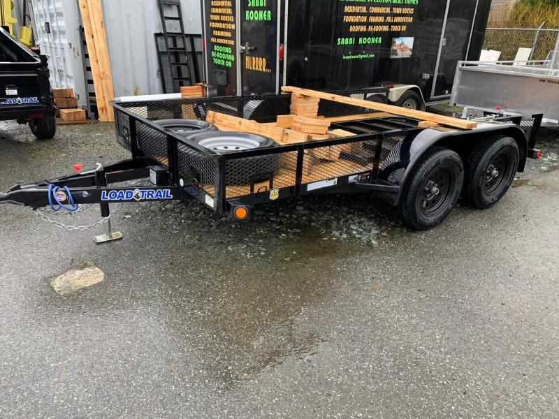 "2020 Load Trail Tandem Axle 77""x12 Utility Trailer"