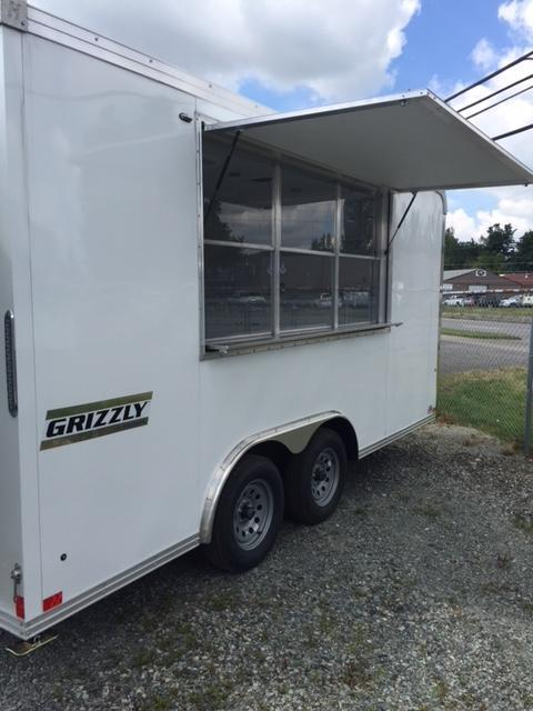 2020 Haulmark 8.5x16' Concession Vending / Concession Trailer