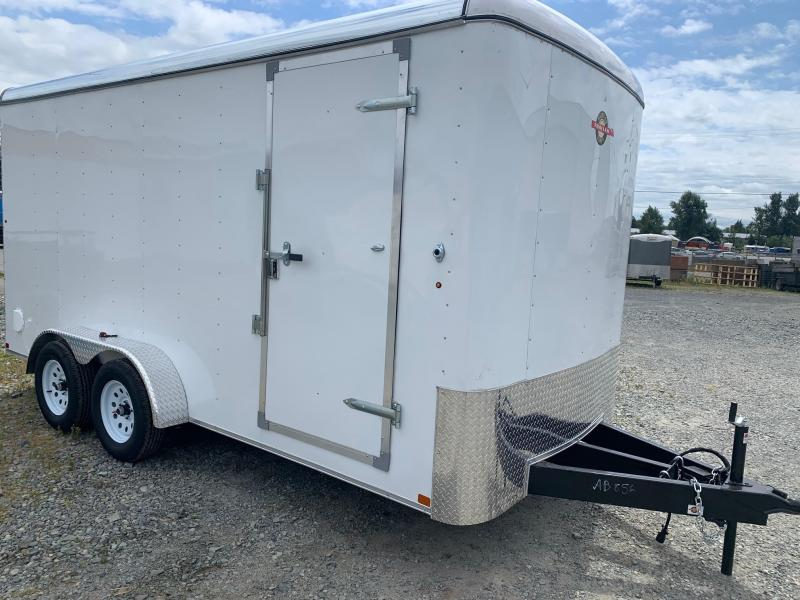 2021 Carry-On 7X16 Barn door Enclosed Cargo Trailer