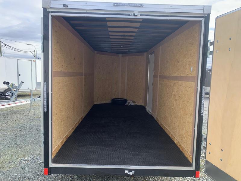 2021 Haulmark GRIZZLY 7X16 BARN DOOR Cargo Trailer