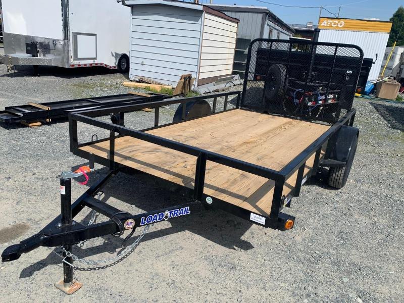 "2021 Load Trail Single Axle 77""x12 Utility Trailer"