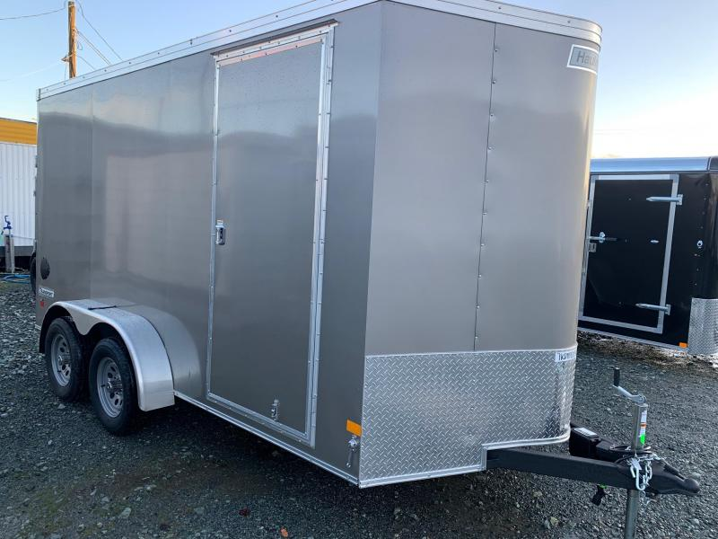 2021 Haulmark TRANSPORT 7X14 V-NOSE Enclosed Cargo Trailer