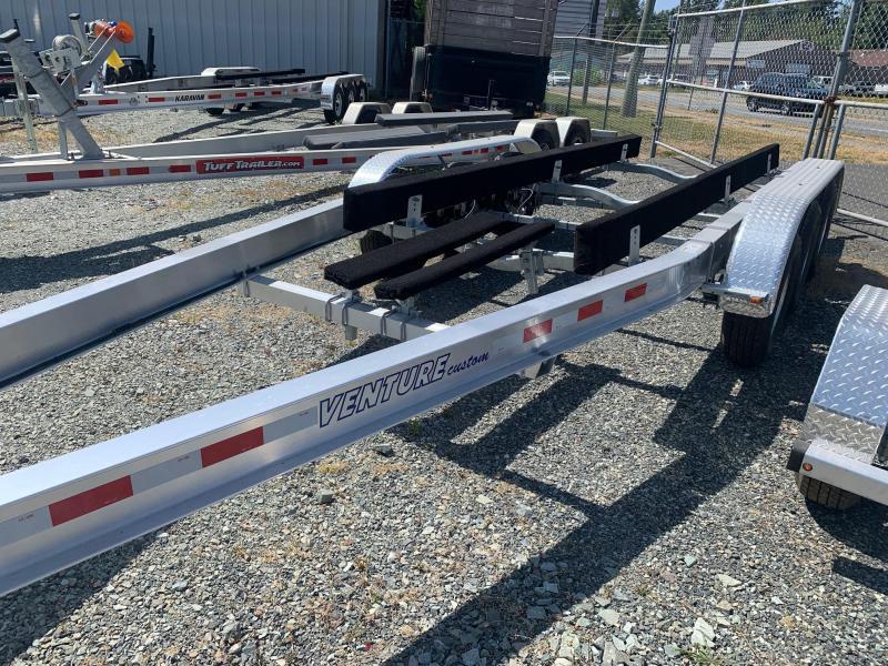 2022 Venture Aluminum Triple Axle VATB-10625 Boat Trailer
