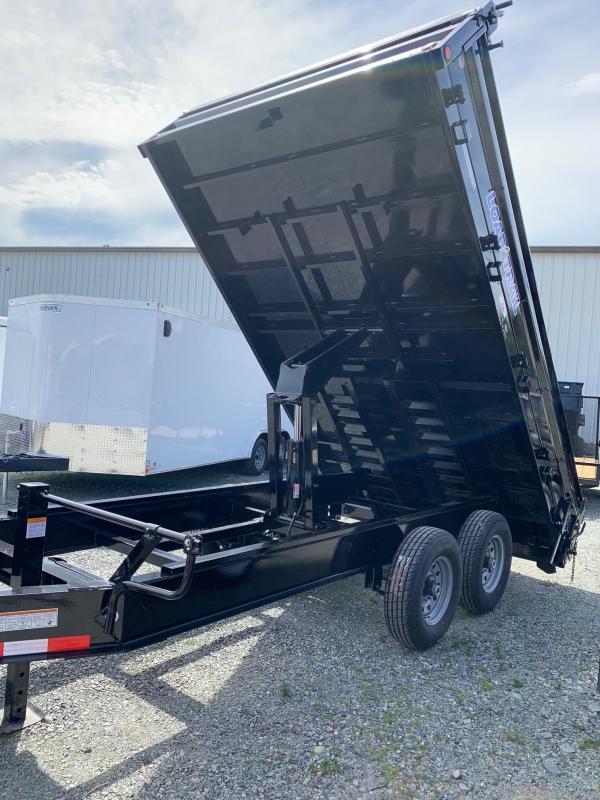 2021 Load Trail DECKOVER 14K 8'X14' Dump Trailer