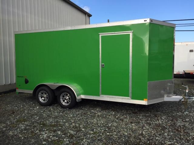 2020 Haulmark 7X16 ALUMINUM RAMP Enclosed Cargo Trailer