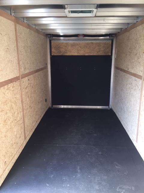 2020 Haulmark 7X16 ALUMINUM RAMP Enclosed Cargo Trailer