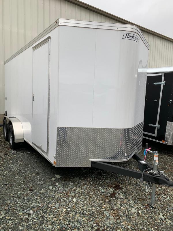 2021 Haulmark 7x16 TRANSPORT W/ RAMP Enclosed Cargo Trailer