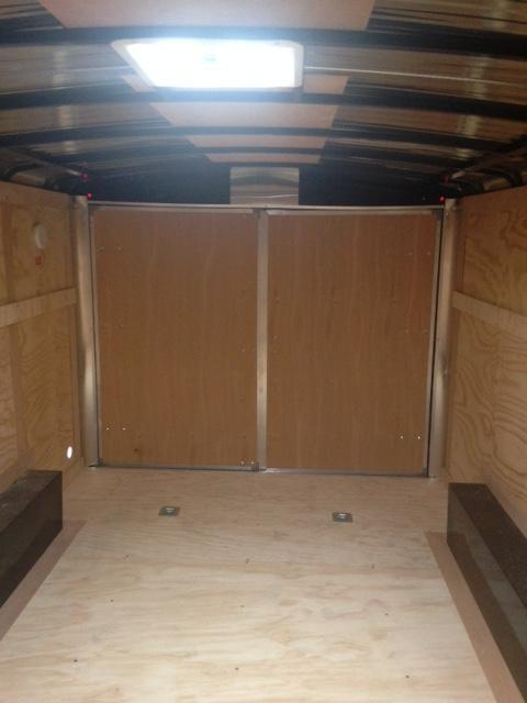 2021 Carry-On 8.5X16 Barn Doors 10k Enclosed Cargo Trailer