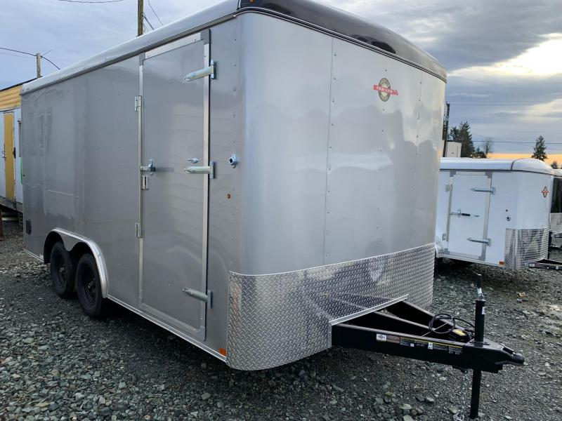 2020 Carry-On 8.5X16 Barn Doors 10k Enclosed Cargo Trailer