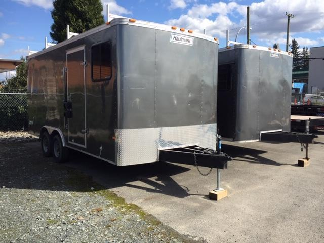2013 Haulmark jobsite office Enclosed Cargo Trailer