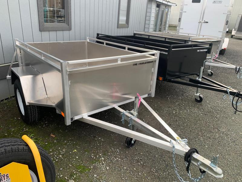 2021 TRAILERMAN 4X6 ALUMINUM Utility Trailer