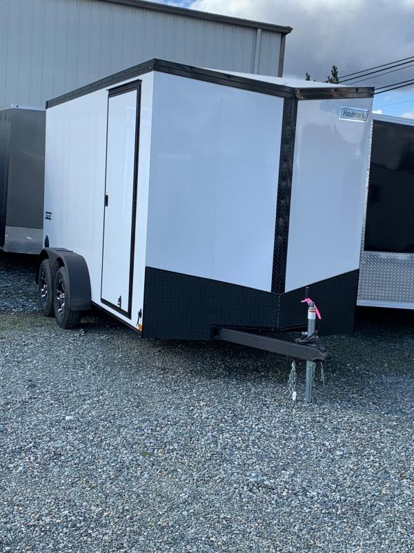 2021 Haulmark V-nose Transport 7x14 w/ramp Enclosed Cargo Trailer