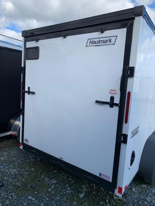 2021 Haulmark V-nose Transport 7x14 w/ramp Enclosed Cargo Trailer
