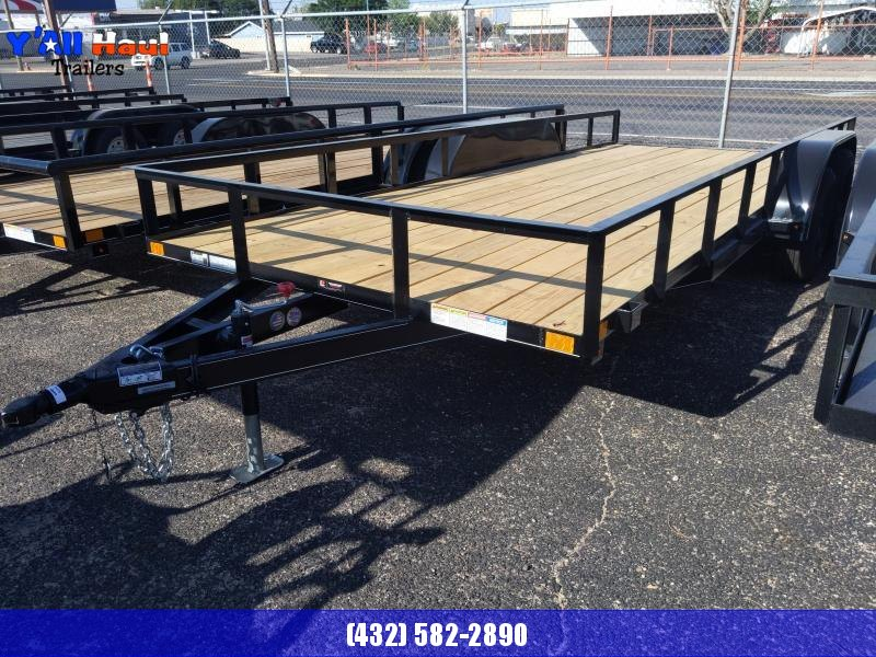 BCI Trailers 83x18 PT Ramps  Utility Trailer