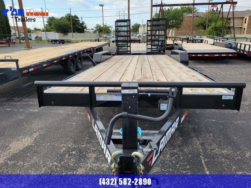 2021 Lamar Trailers 83x22 H627 Equipment Trailer