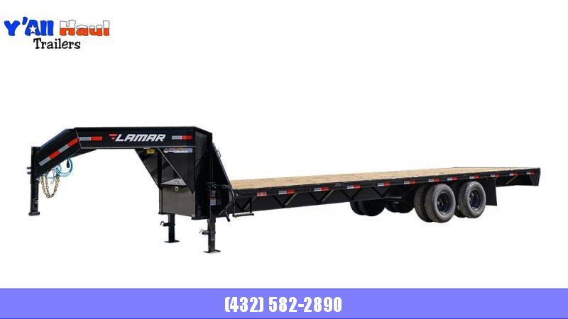 2021 Lamar Trailers 102x32 FD 24K Gooseneck Equipment Trailer