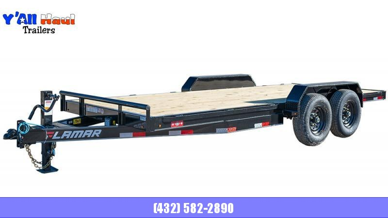 2021 Lamar Trailers 83x20 H627 Equipment Trailer