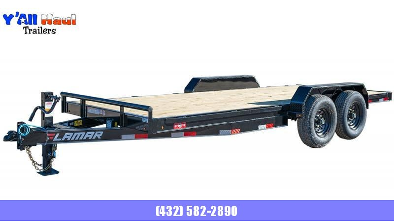 2021 Lamar Trailers 83x20 H627 Equipment Trailer
