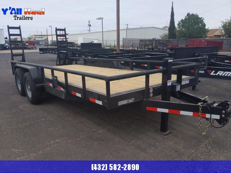 2021 BCI Trailers 83X18 7k Stand up Ramps