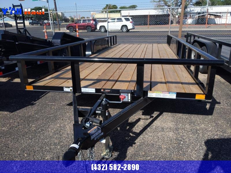 2021 BCI Trailers 83x20 PT Ramps Utility Trailer