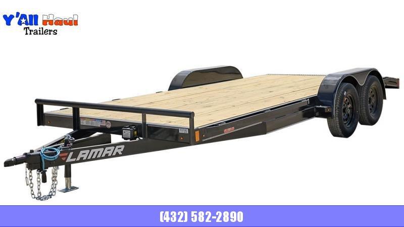 2021 Lamar Trailers 83x18 CC25 Car / Racing Trailer