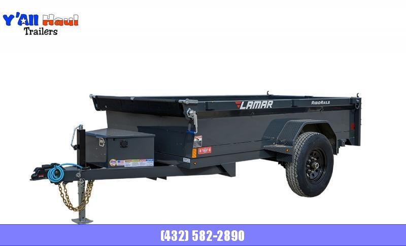 "2021 Lamar Trailers 60"" x 10'  Tandem Axle  Mini Dump Trailer"
